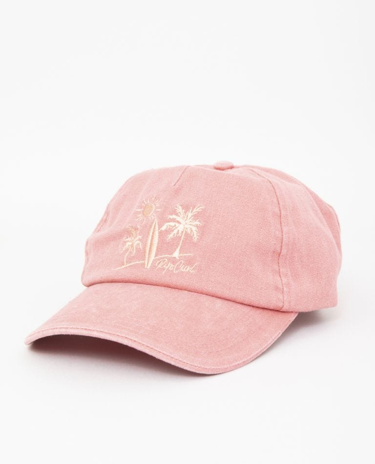 Sun + Surf Cap in Rose