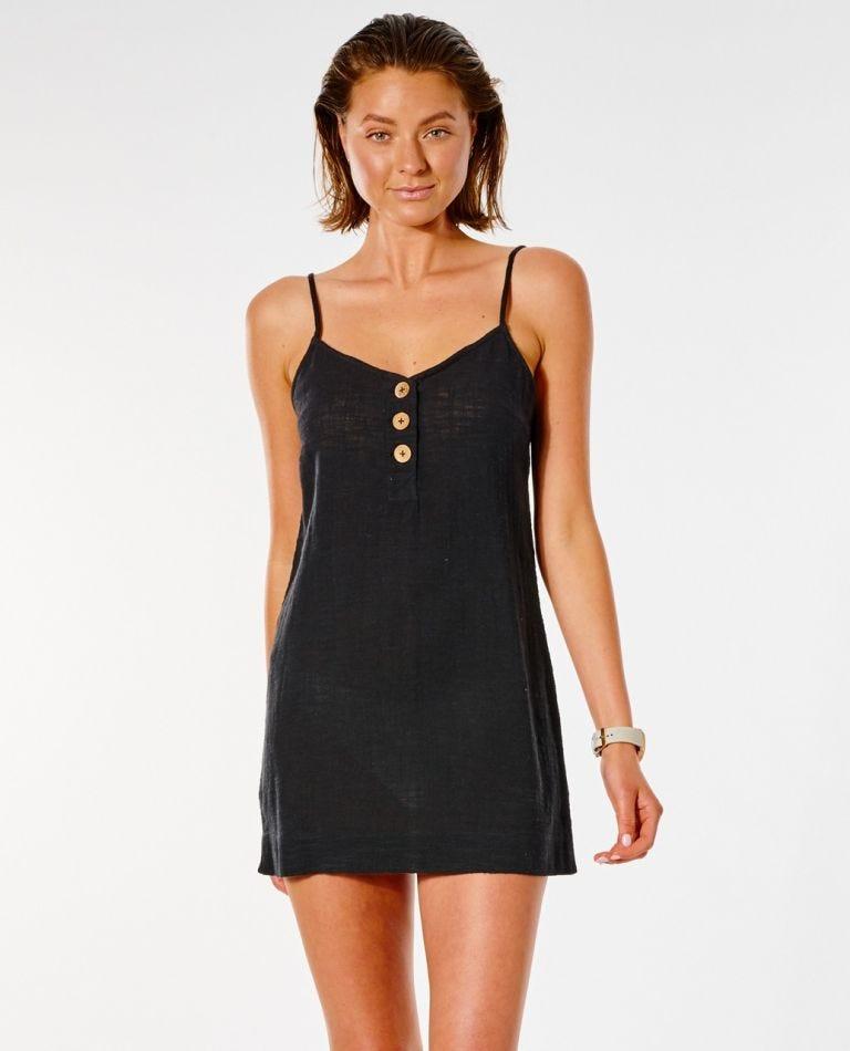 Classic Surf Dress in Black