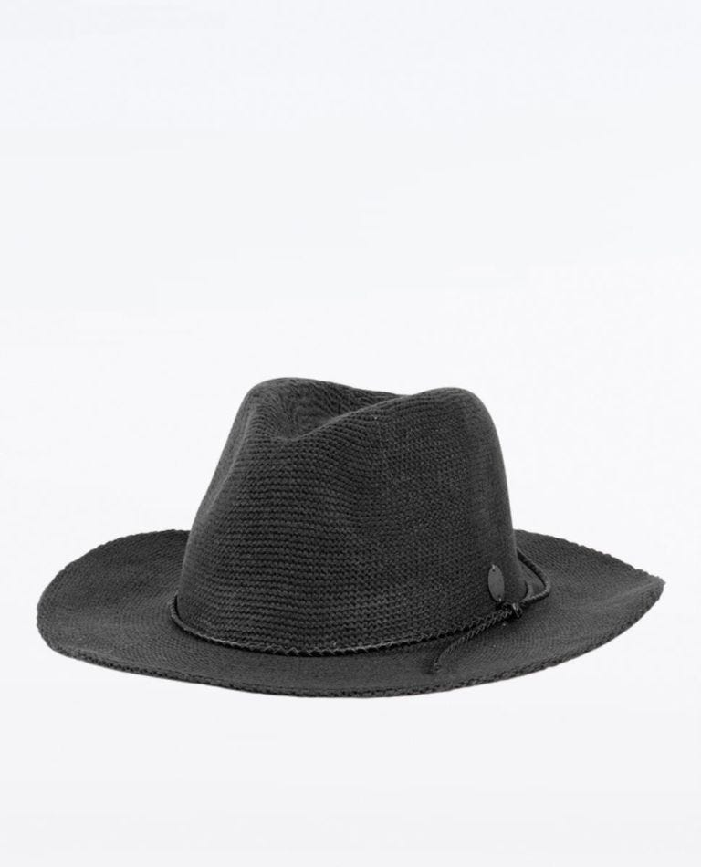 Spice Temple Knit Panama Hat in Charmarle