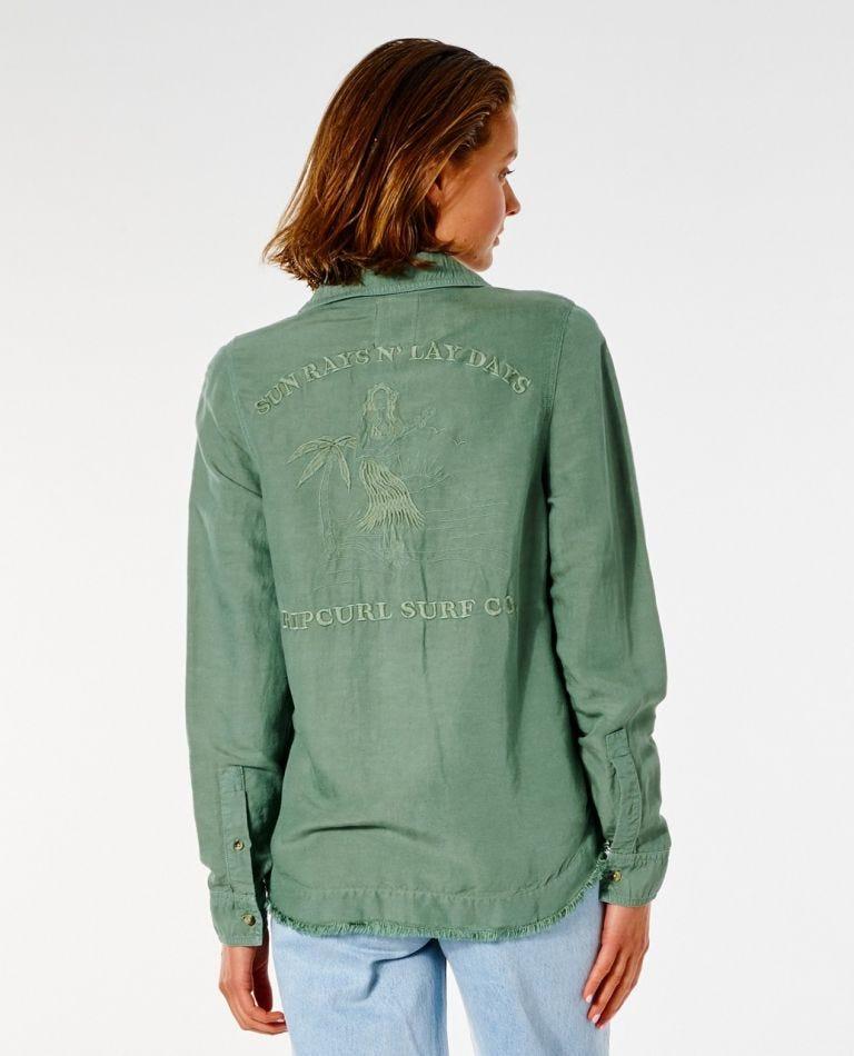 Hula Shirt in Green