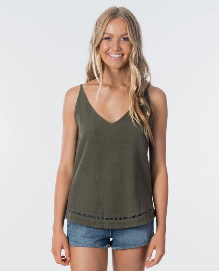 Wategoes Cami in Olive
