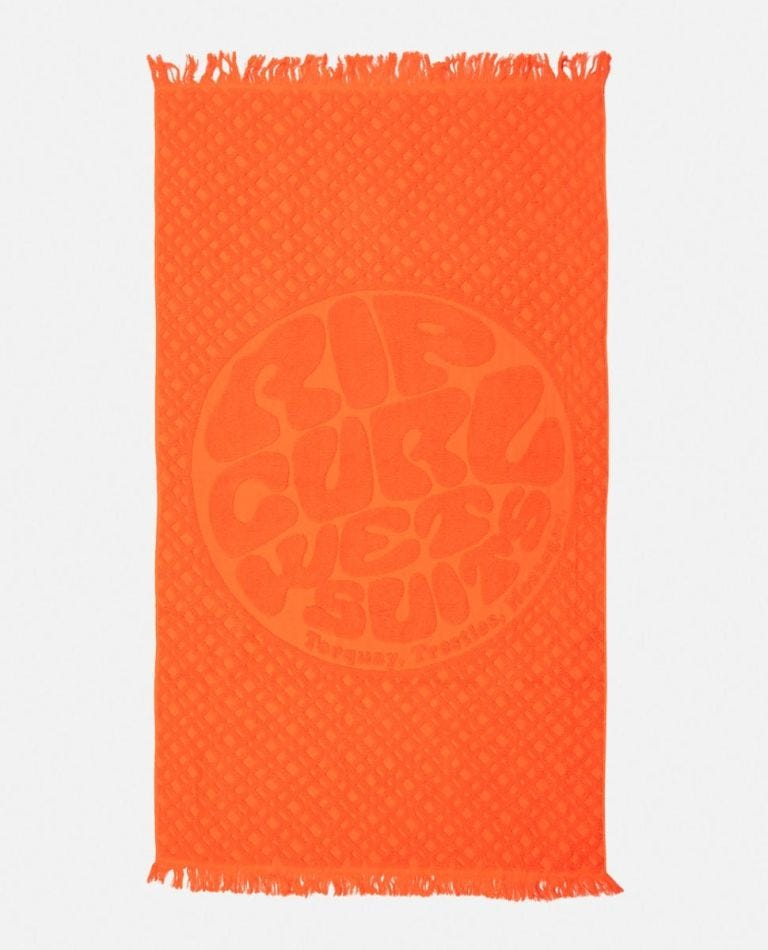 Surfers Essentials Towel in Coral