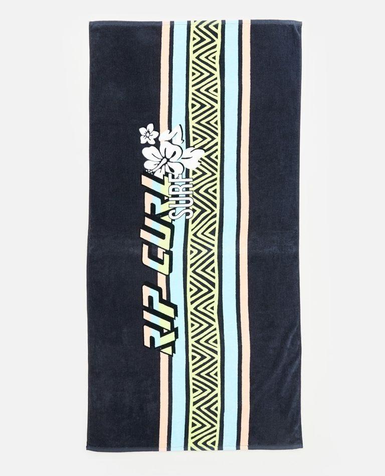 Surf Revival Standard Towel in Washed Black