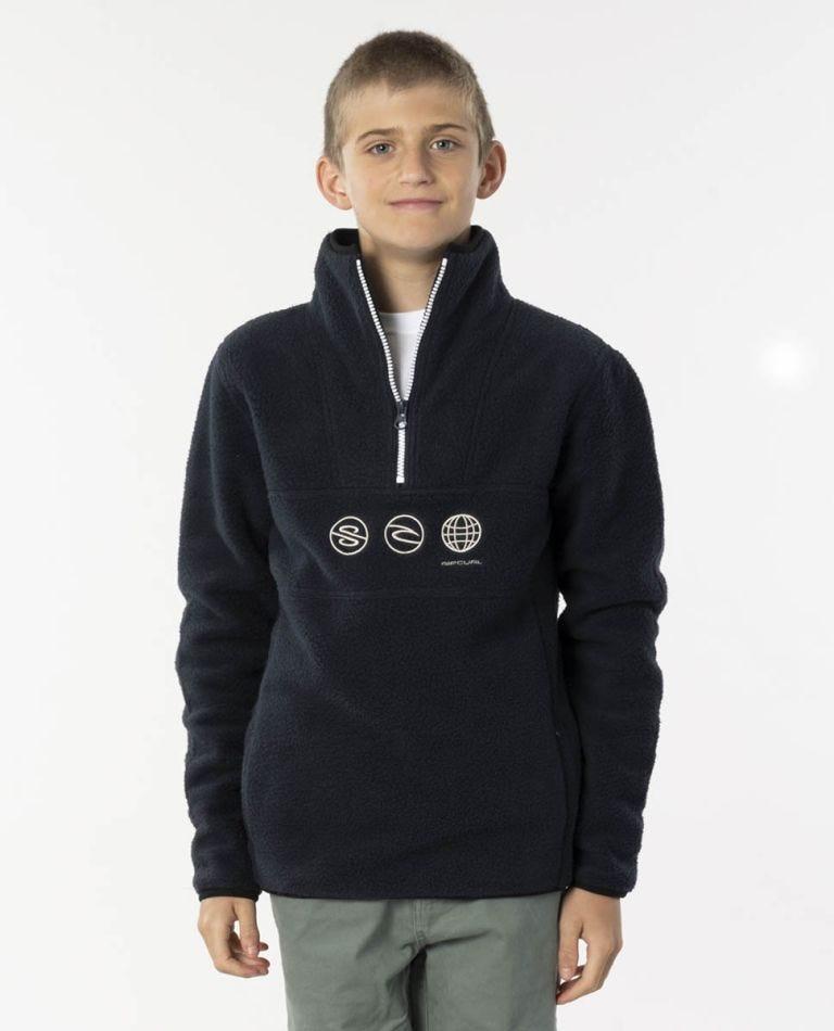 Bells Polar Fleece - Boys (8 - 16 years) in Navy