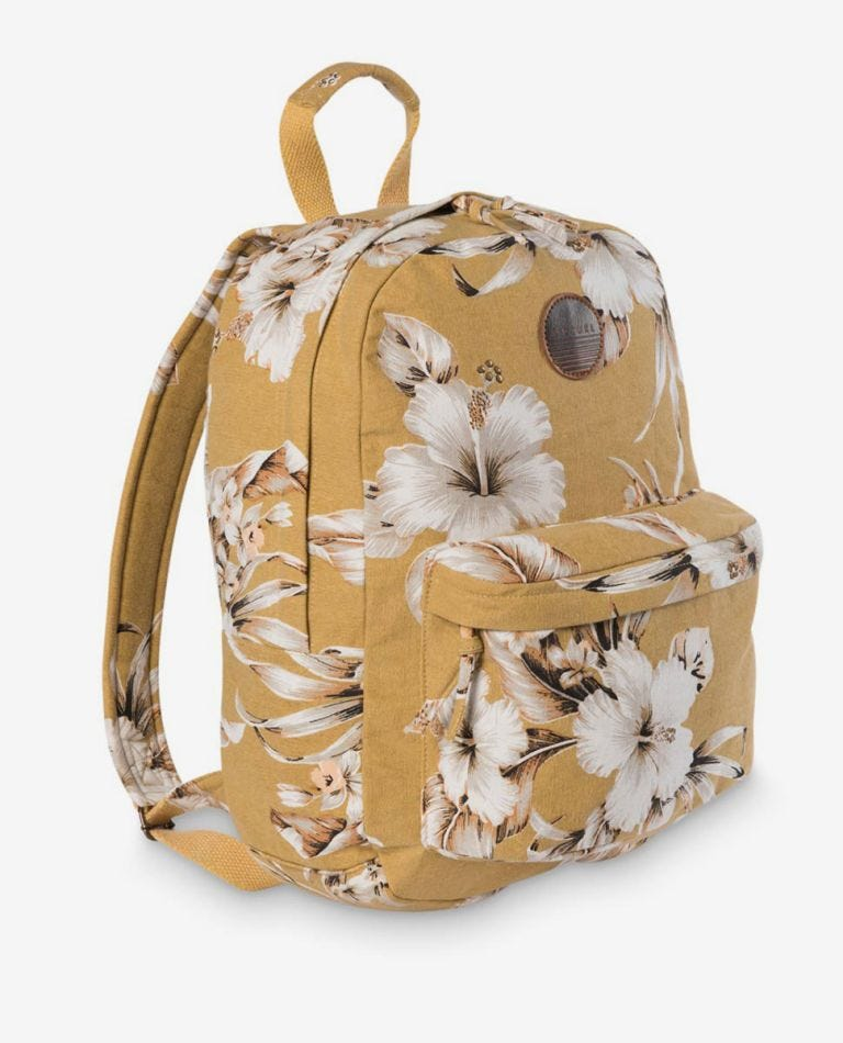 Island Time Backpack in Mustard