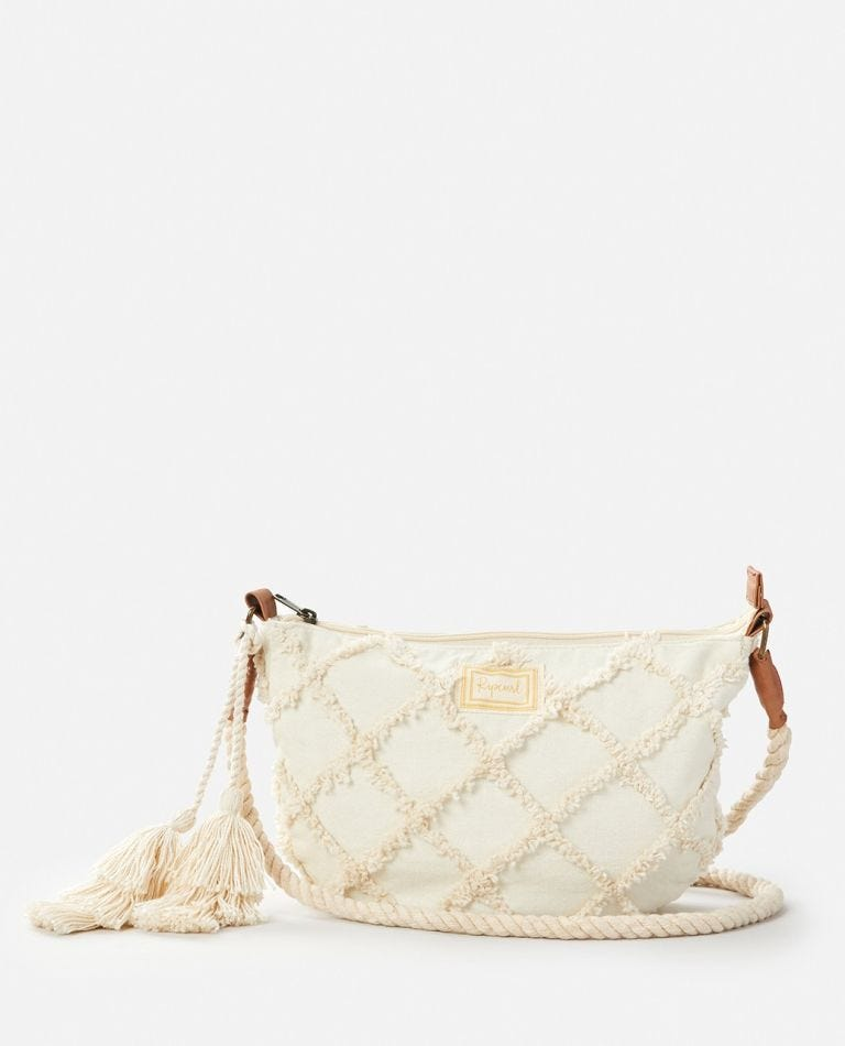 Saltwater Handbag in Bone