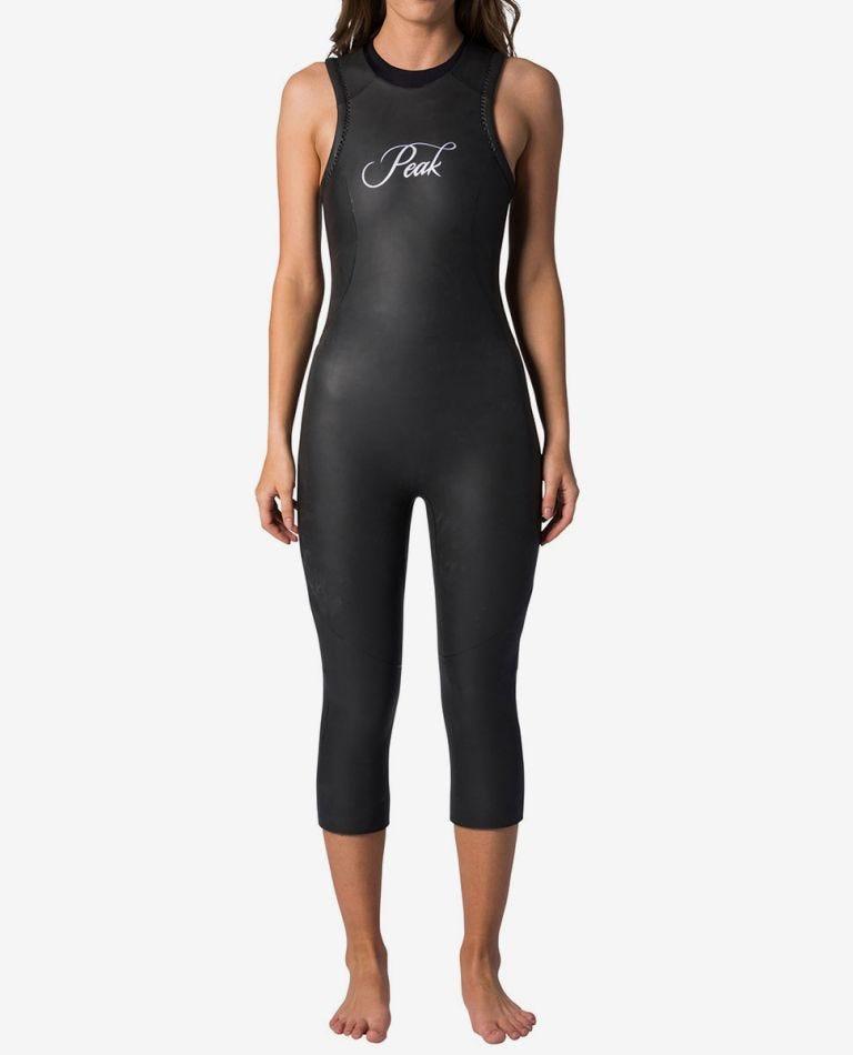 Peak Womens Energy Tri-Suit in Black