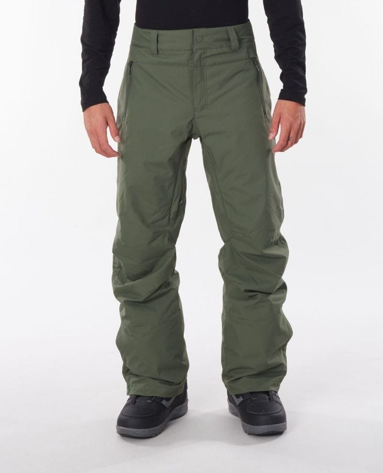 Base Snow Pant in Forest Green