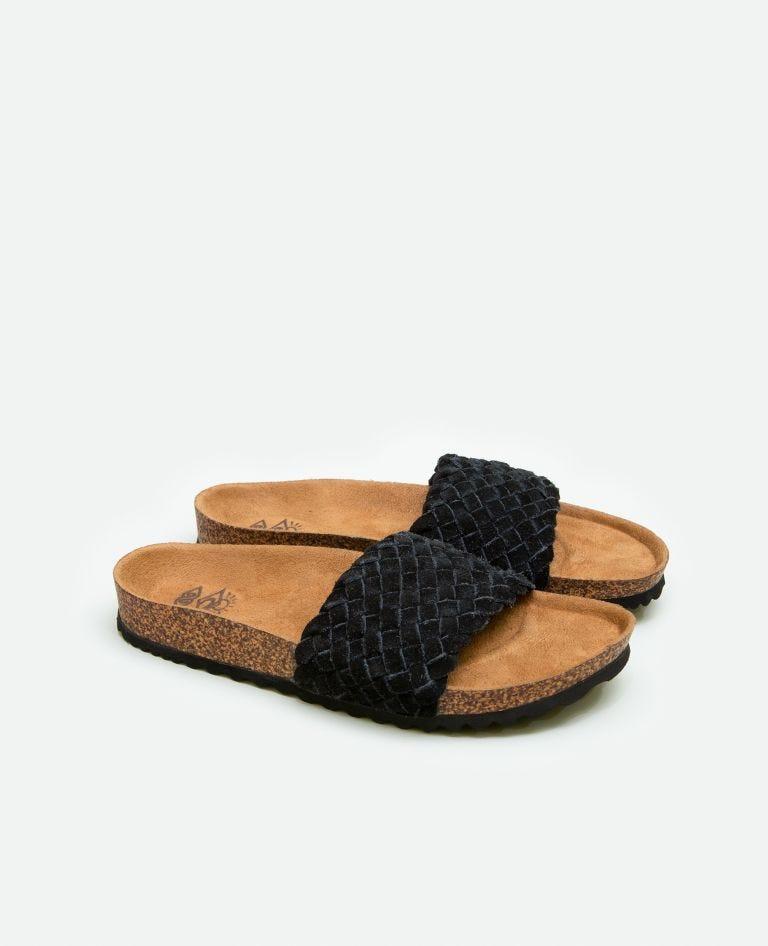 Marbella Sandals in Black