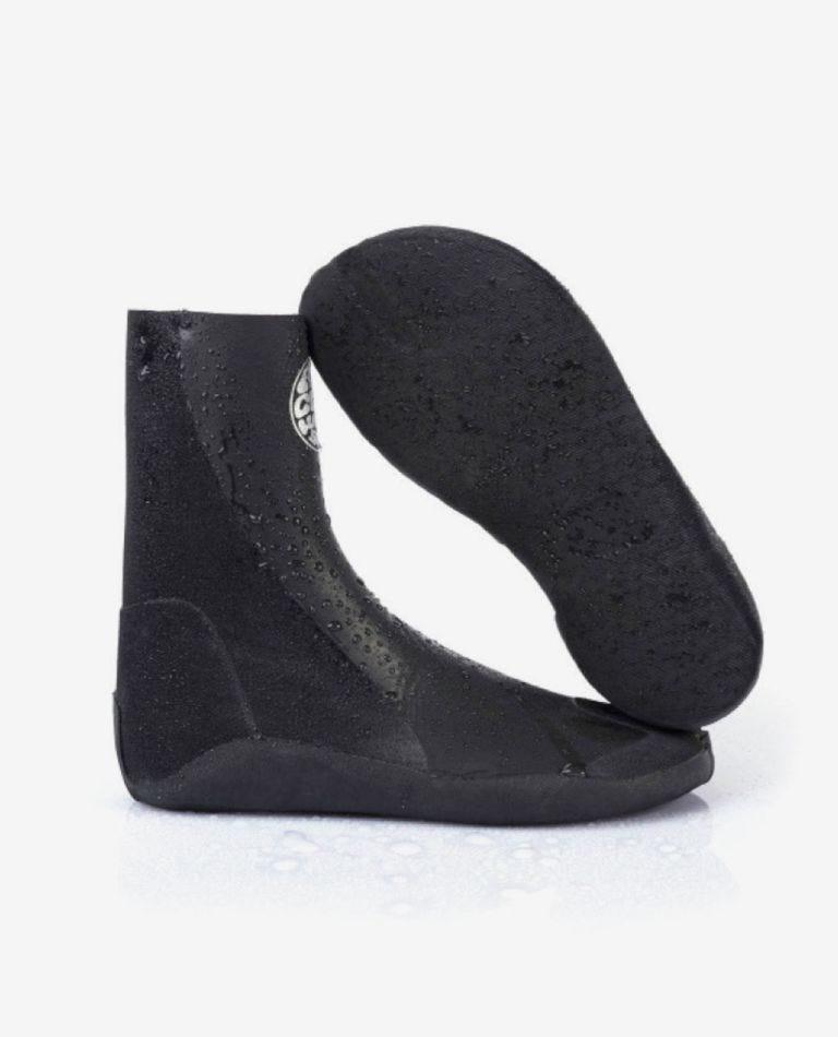 Rubber Soul 2mm Split Toe Wetsuit Boot in Black