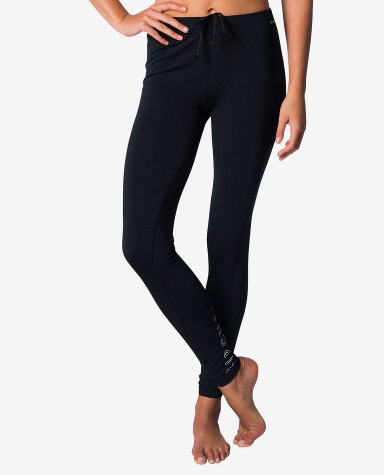 Junior UV Rashy Surf Pant in Black