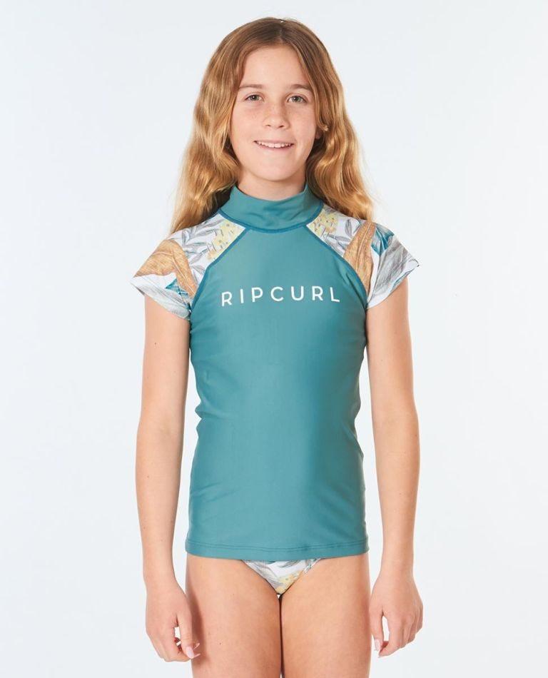 3 Piece UV Swim Set Girls (8 - 16 years) in Green