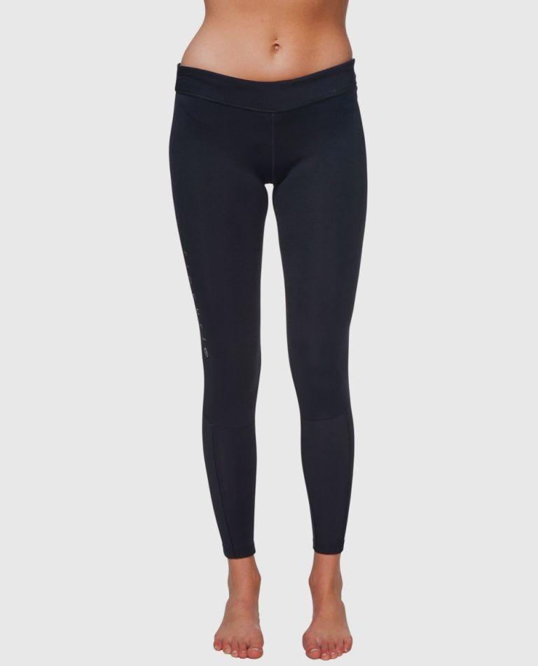 Womens G-Bomb Long Pant 1Mm in Black