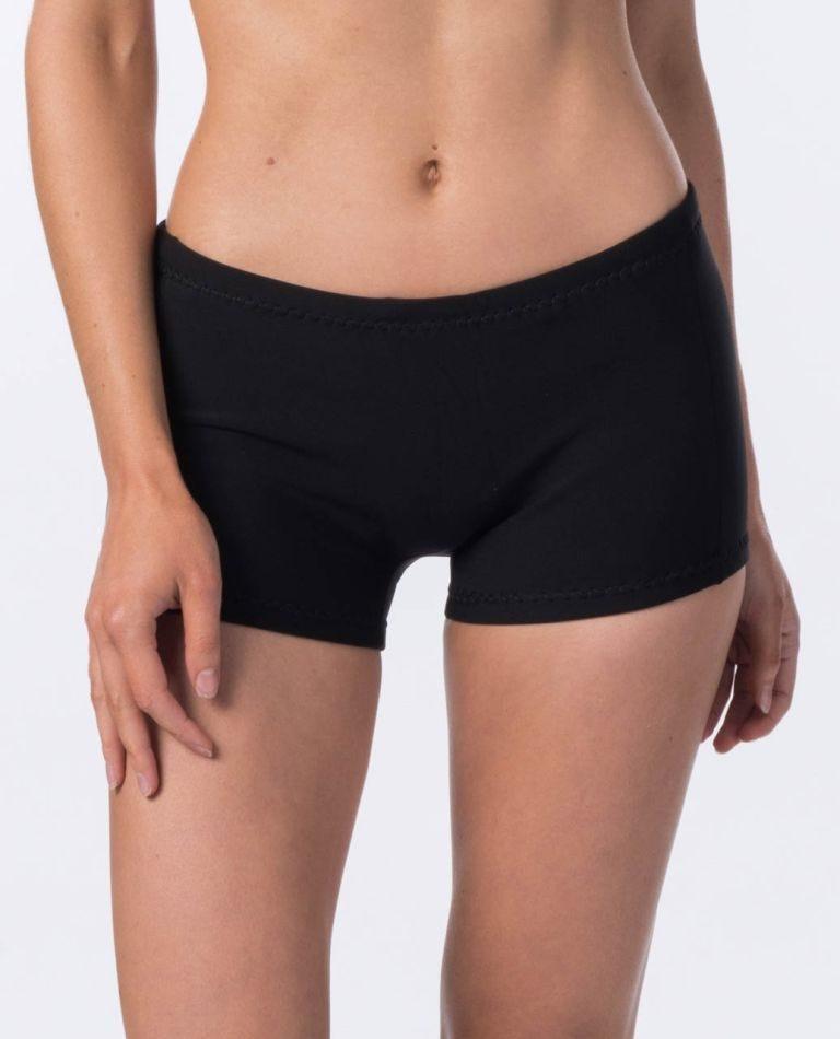 G-Bomb 1mm Boyleg Shorts  in Black