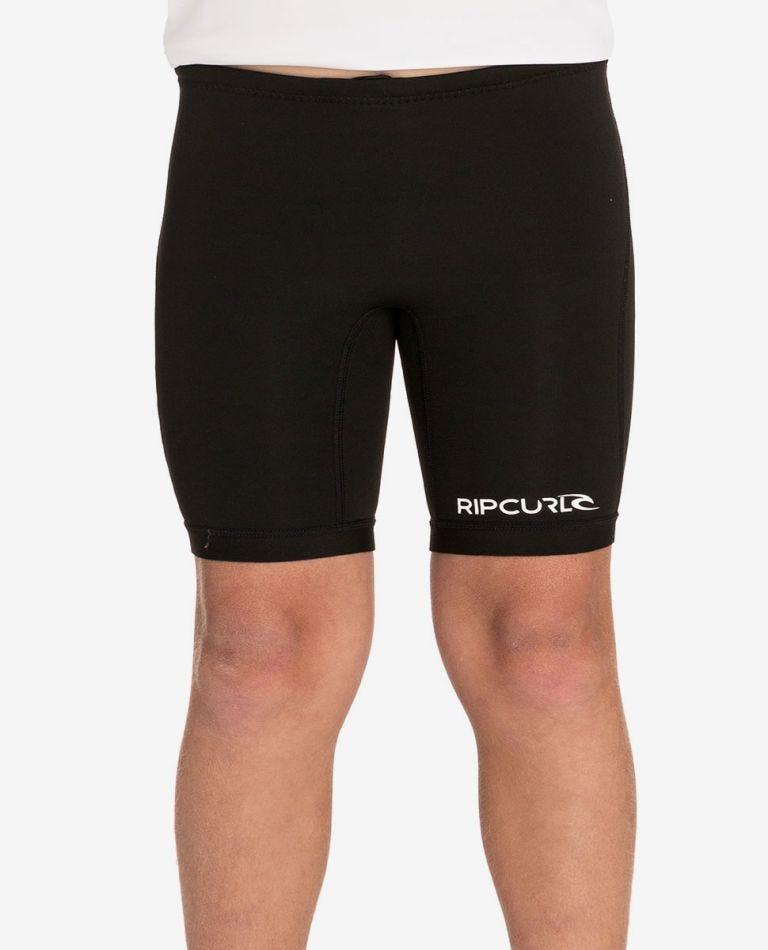 Dawn Patrol 1mm Neoprene Shorts - Boys in Black