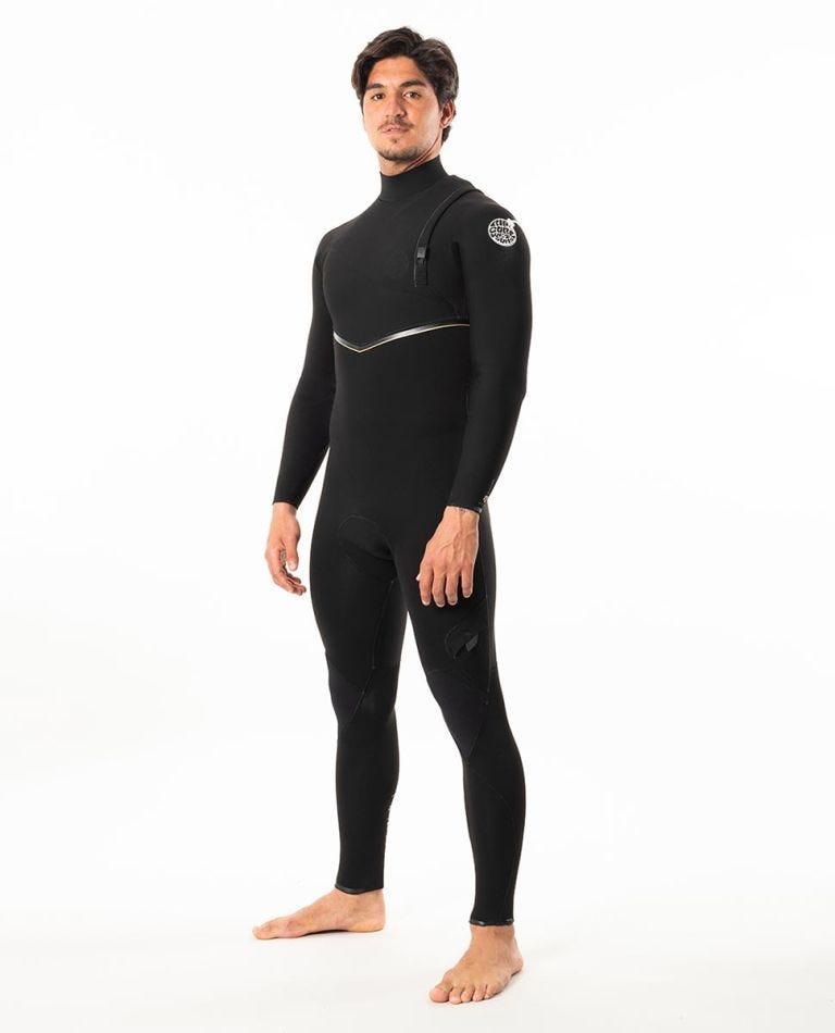 E-Bomb 3/2mm Zip Free Wetsuit Steamer in Black