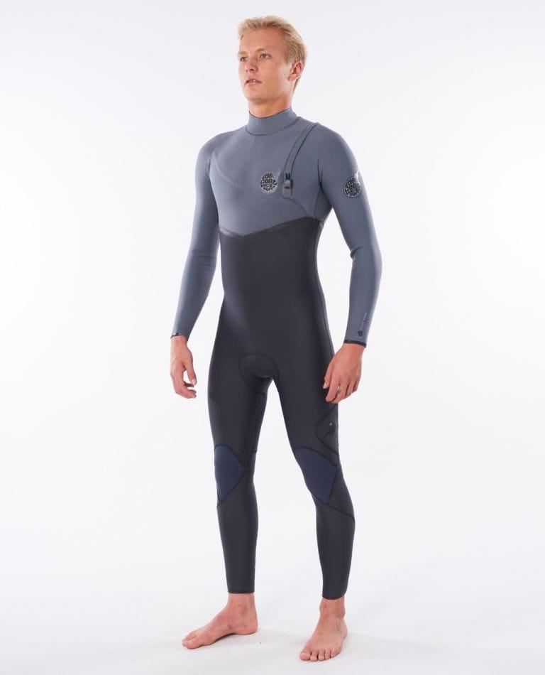 Flashbomb 3/2 Zip Free Wetsuit in Grey