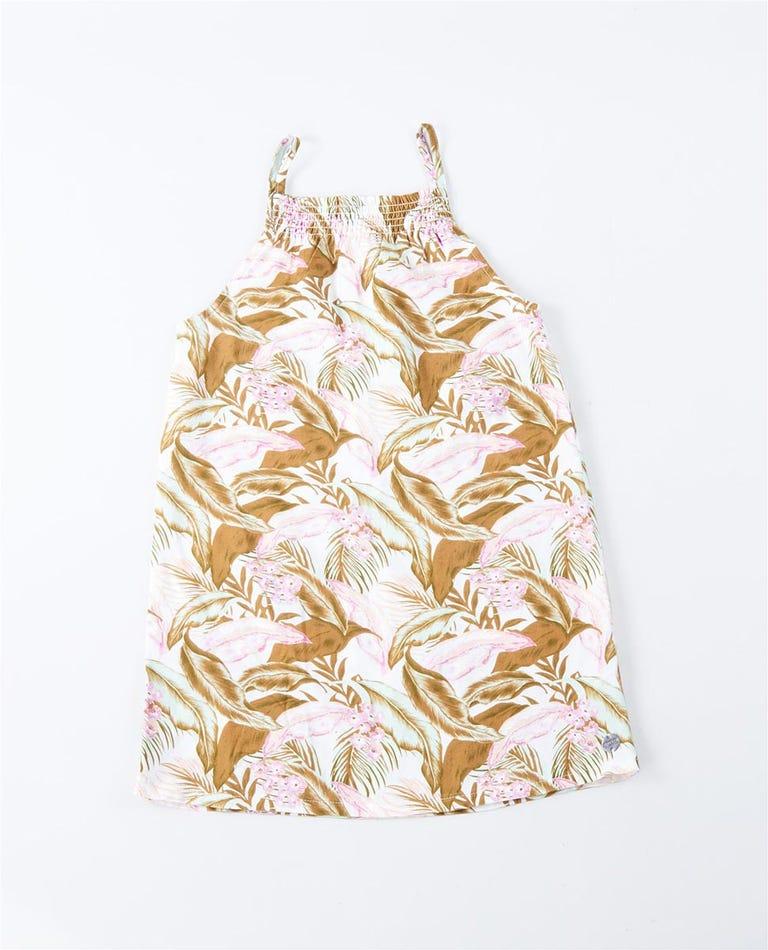 Tropic Sol Dress  - Girls (0 - 7 years) in White
