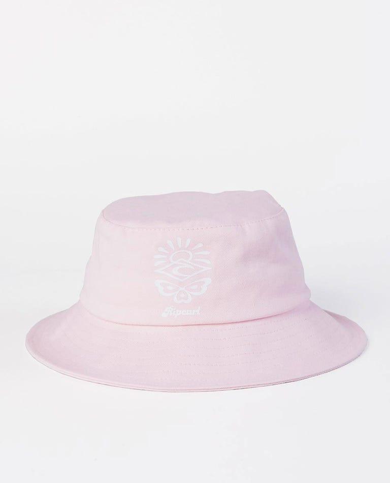 Mini Retro Bucket Hat in Lilac