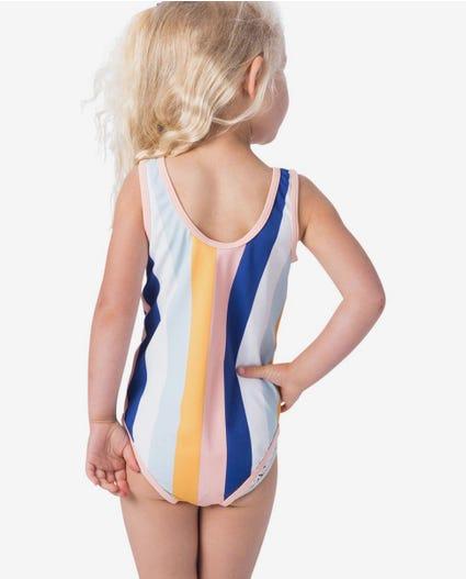 Mini Island Lovin One Piece Swimwear - Toddler Girls in Light Pink