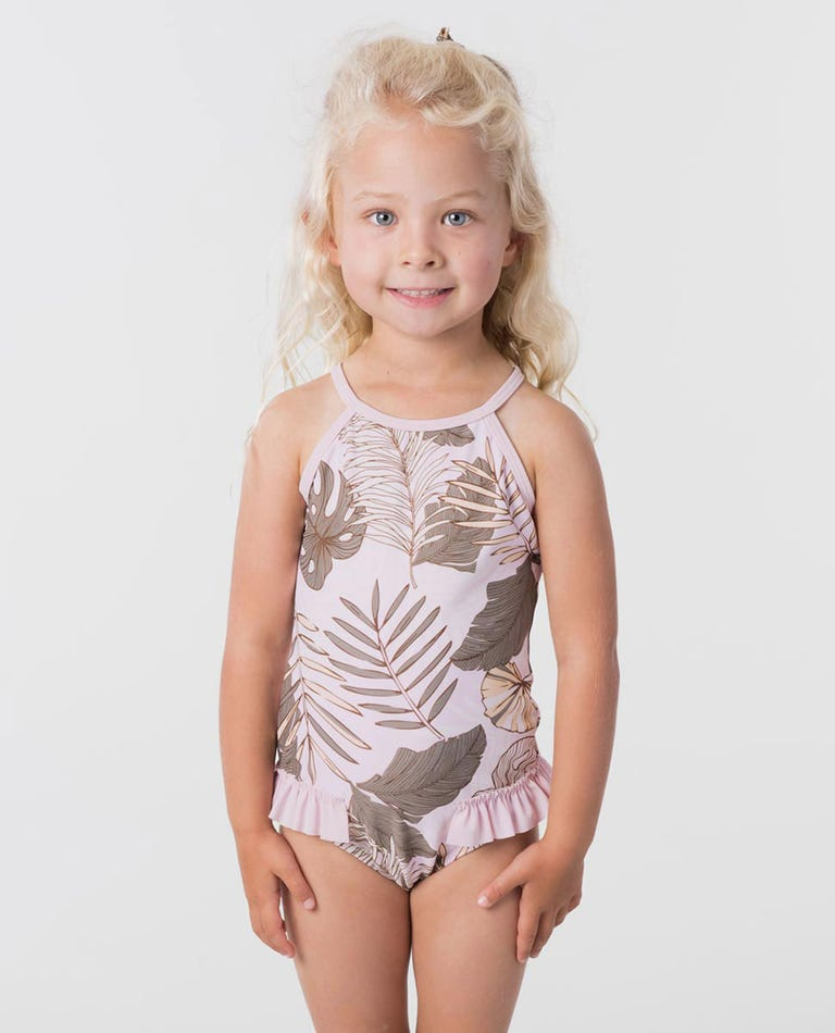 Mini Paradise Cove One Piece Swimsuit in Lilac
