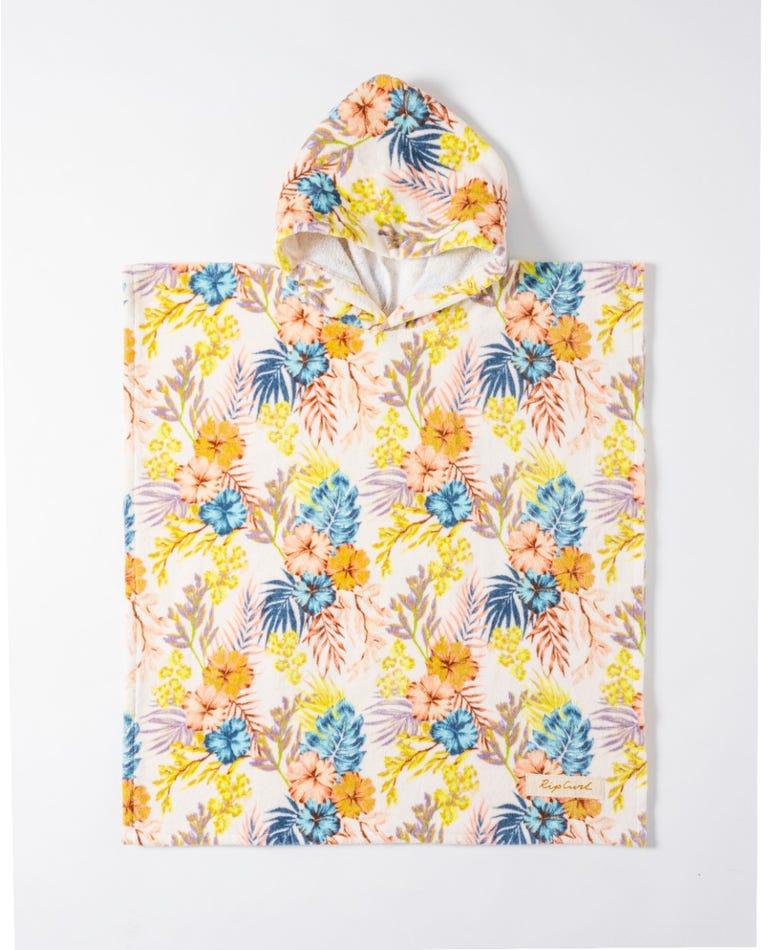 Aloha Hooded Towel - Mini in Vanilla