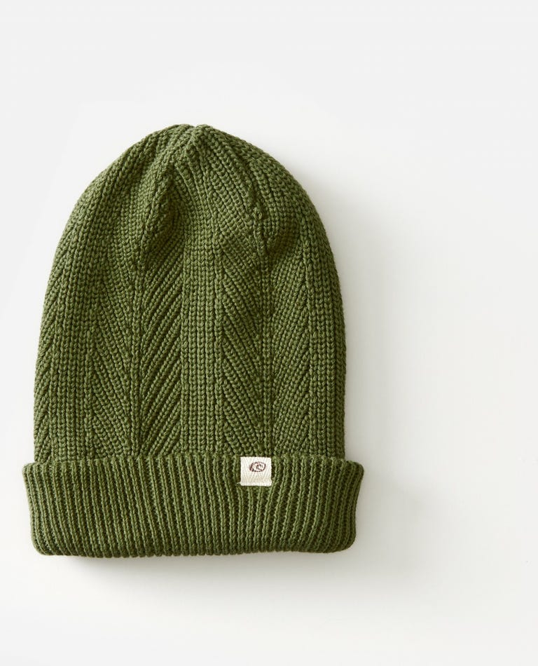 Coco Beanie in Olive