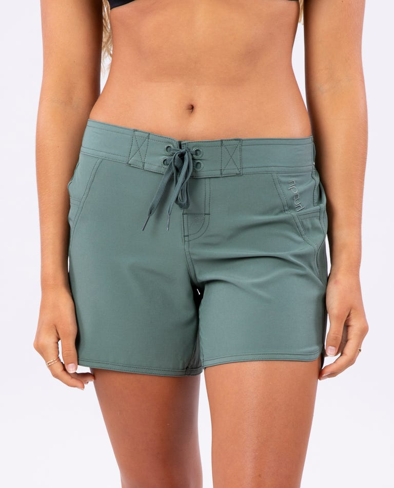 Classic Surf Eco 5 Boardshort in Olive