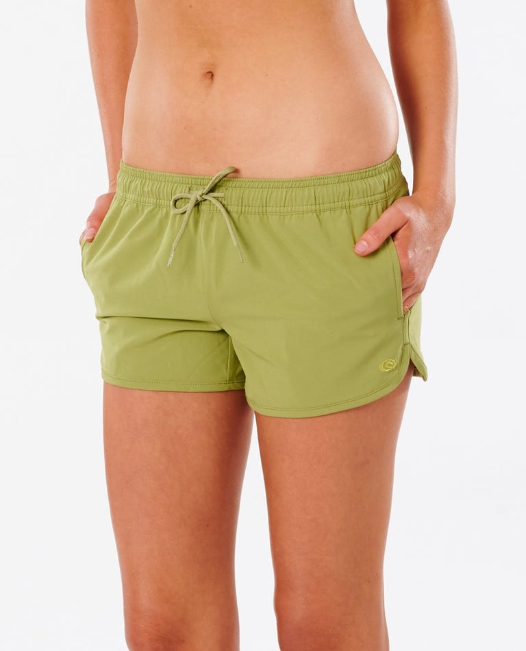 Classic Surf Eco 3 Boardshort in Green
