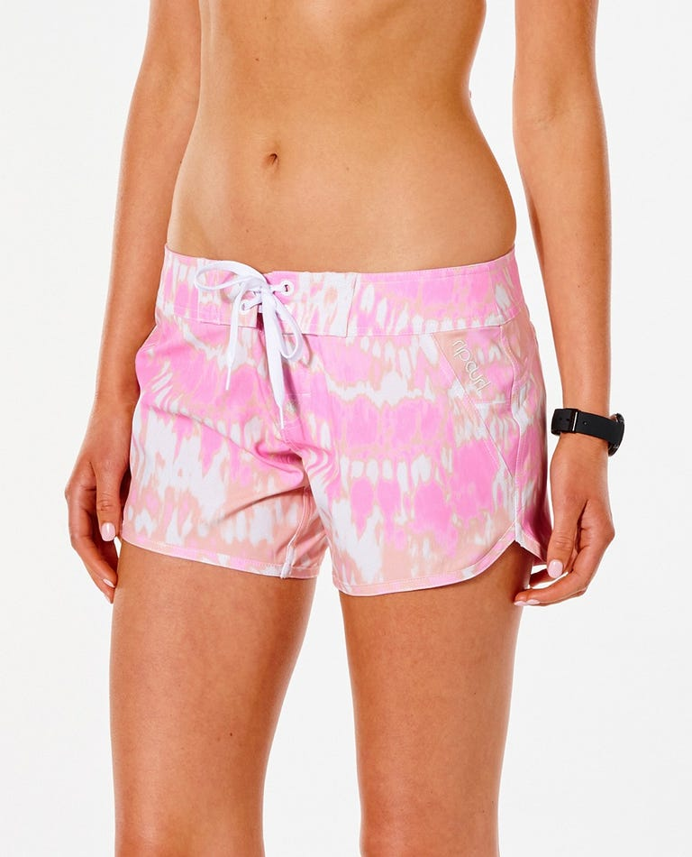 Classic Surf Eco 5 Boardshort in Pink