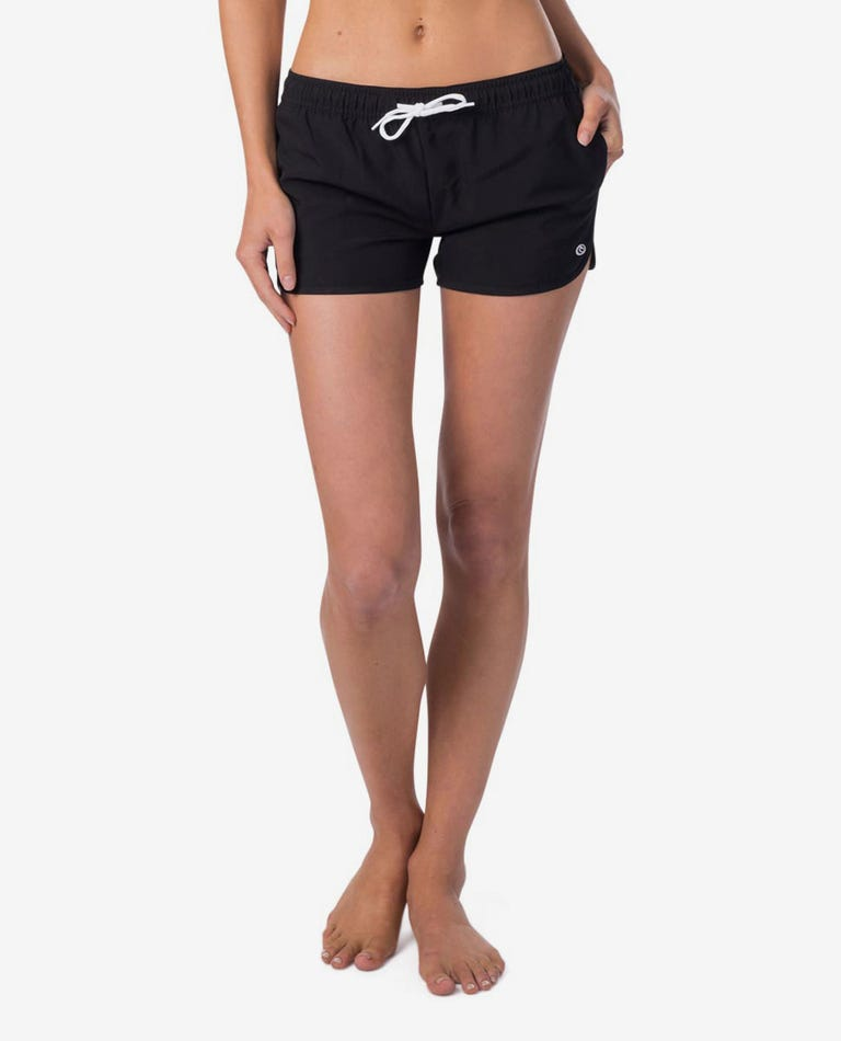 Surf Essentials II 3 Boardshort in Black