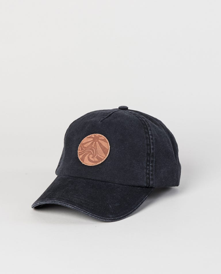 Keep On Surfin Cap in Black
