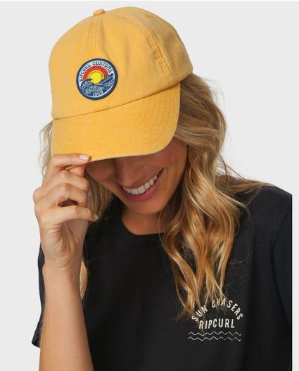 Rip Curl Customs Cap in Gold