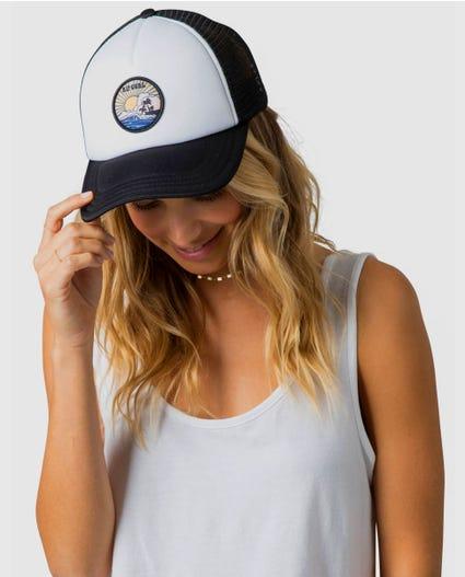 Shorebreak Trucker Hat in Black