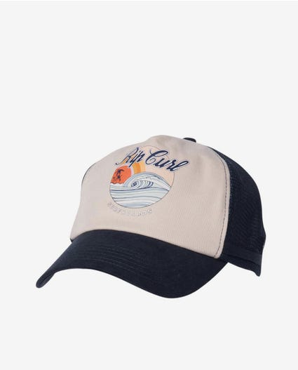 Surf Series Trucker Cap in Navy