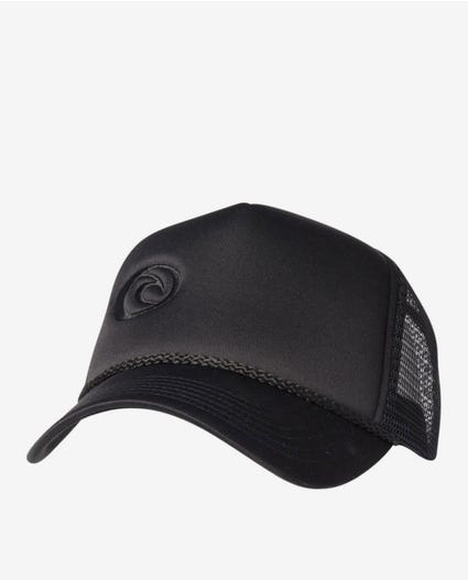 Iconic Trucker Cap in Black