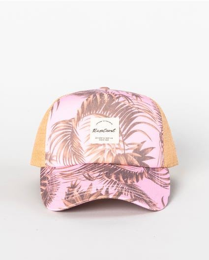 Paradise Cove Trucker Cap in Lilac