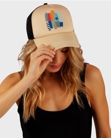 Which Board Trucker Hat in Sand