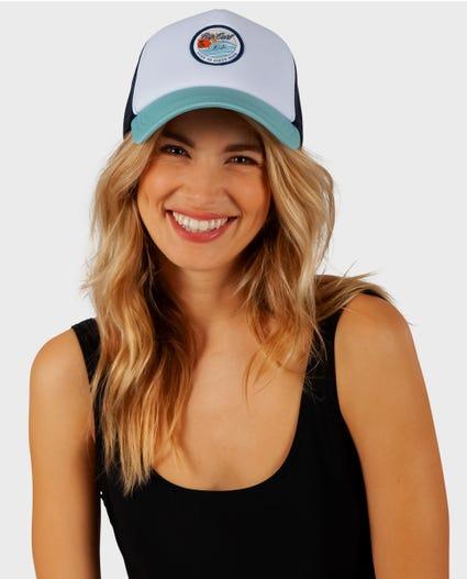 Eventide Trucker Hat in Light Green