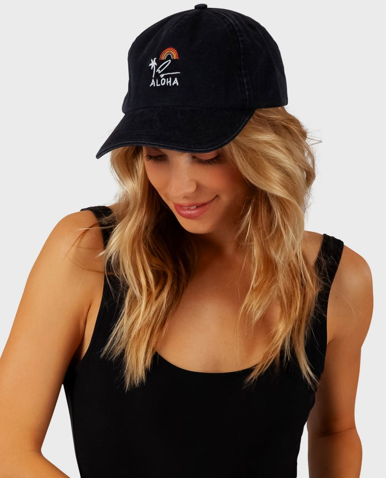 Mini Vacay Hat in Black