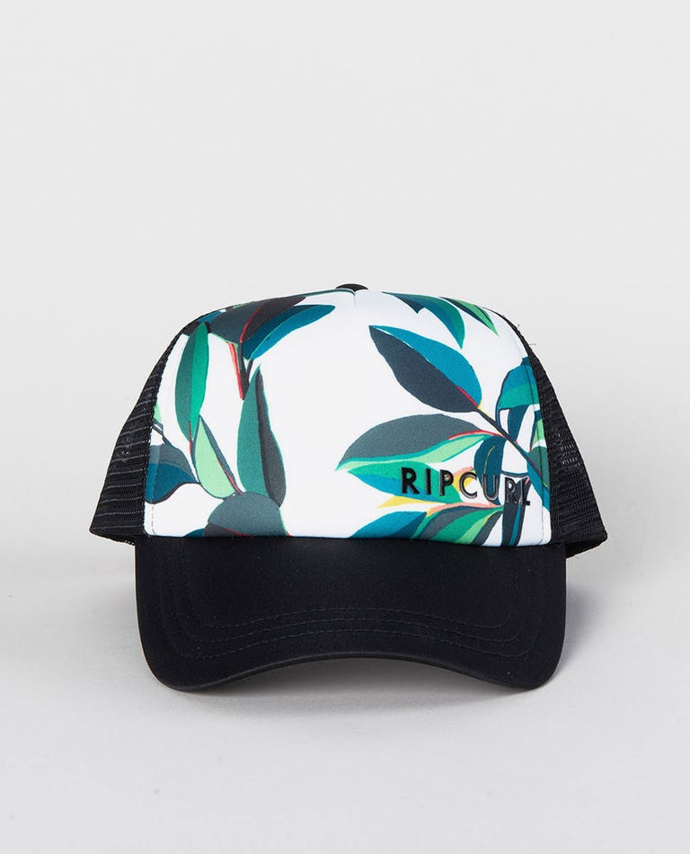 Palm Bay Trucker Cap in Black