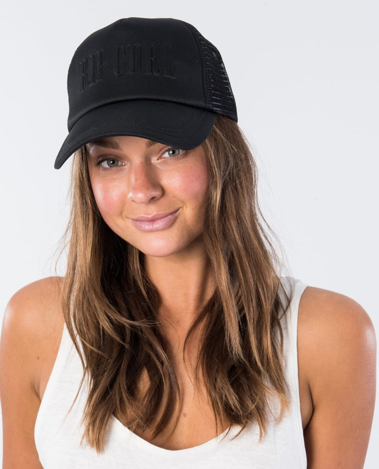 Legacy Trucker Hat in Black