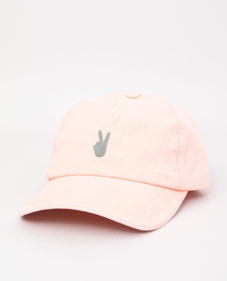 Im Outta Here Cap in Dusk Pink