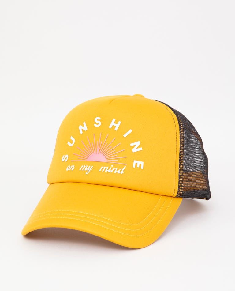 Sunshine Trucker in Mustard