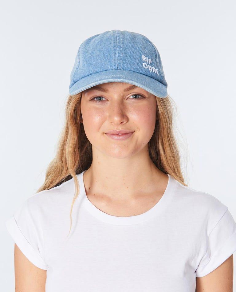 Revival Denim Cap in Blue