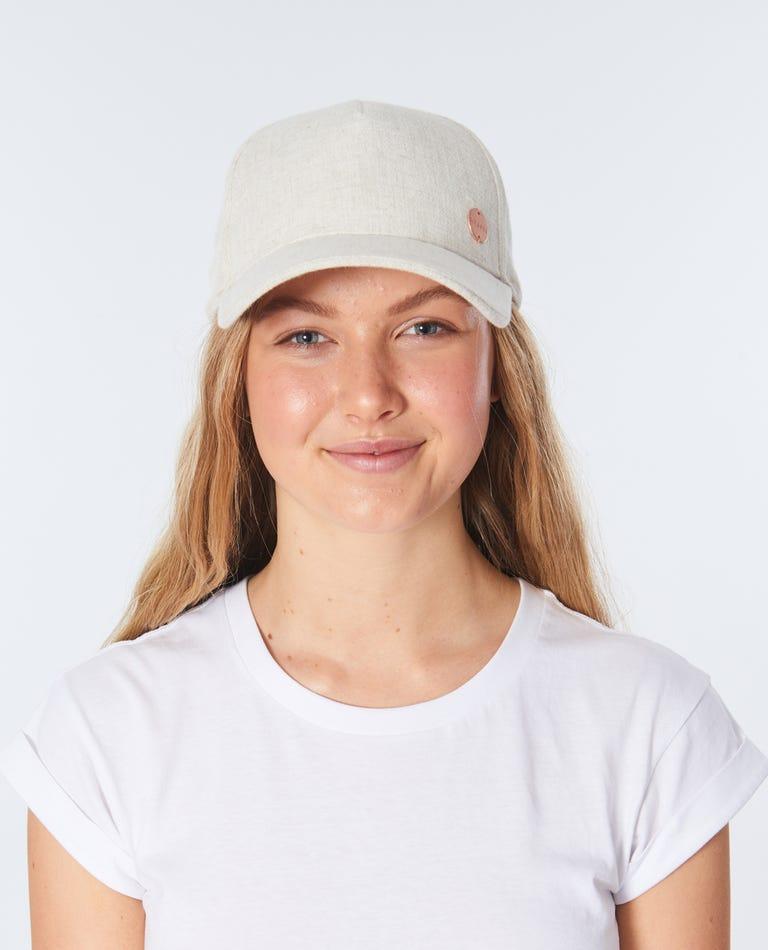 Surf Shack Tie Back Hat in Natural