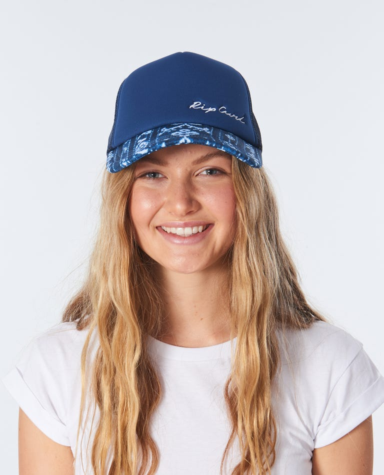 Surf Shack Trucker in Navy