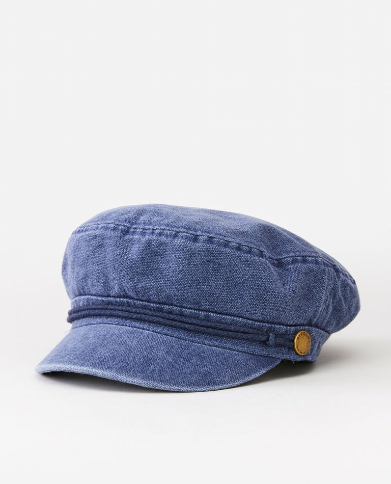 Washed Driver Cap in Navy