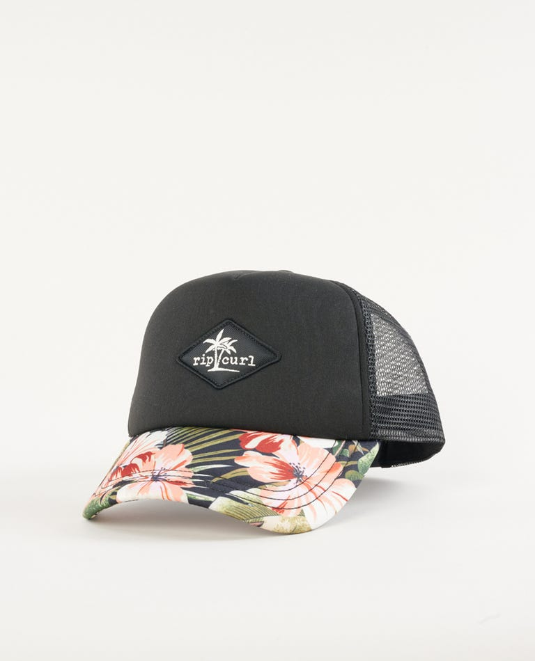 Leilani Trucker in Black