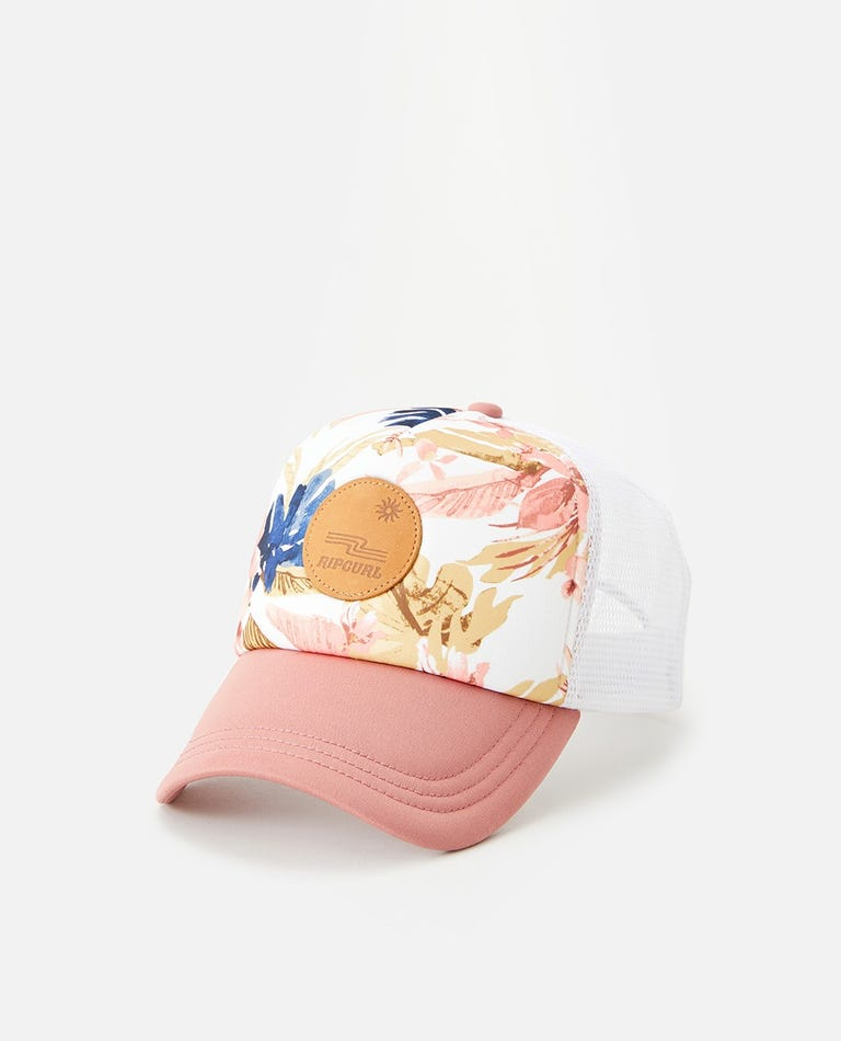 Sunset Waves Trucker Hat in Multi